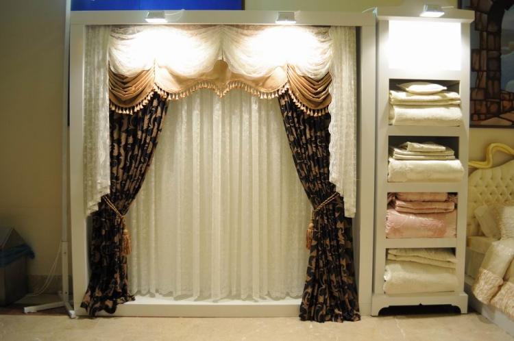 2013 fon perde modelleri elif perde. Black Bedroom Furniture Sets. Home Design Ideas