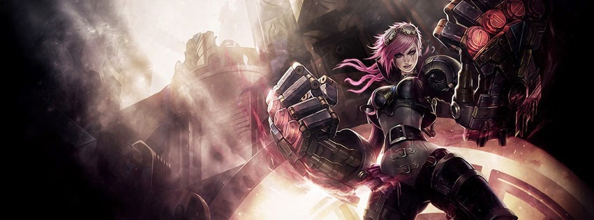 VI League of Legends Facebook Cover PHotos