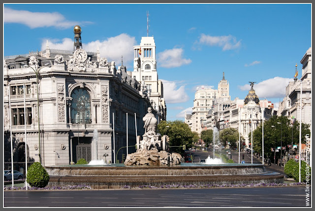 Plaza Cibeles Madrid