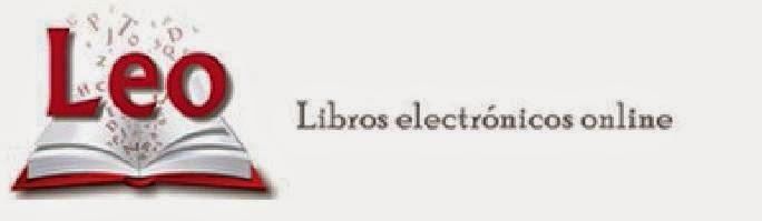 LEO, libros electrónicos online.