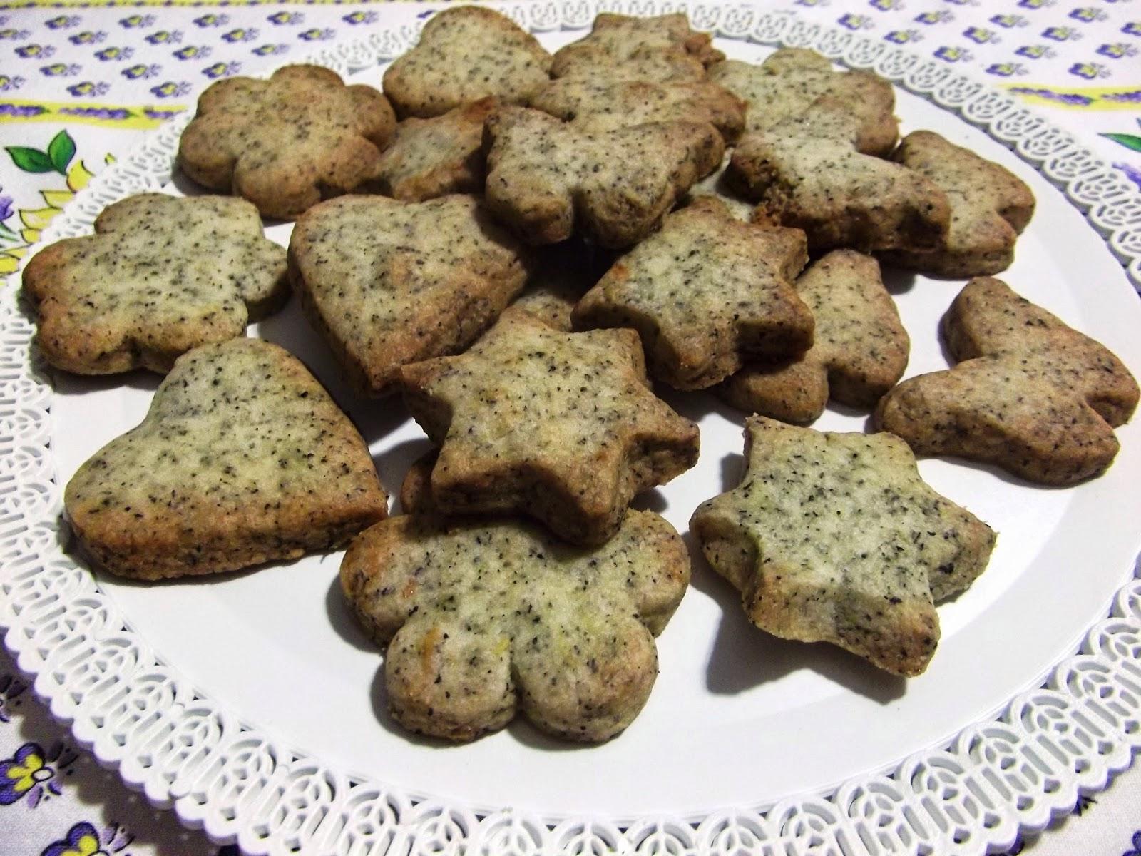 biscotti al tè al bergamotto