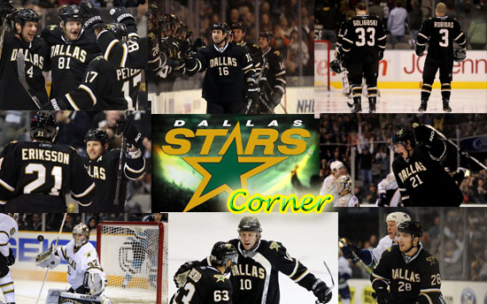 Dallas Stars Corner