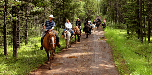 horseback riding alberta rocky mountains travel photography