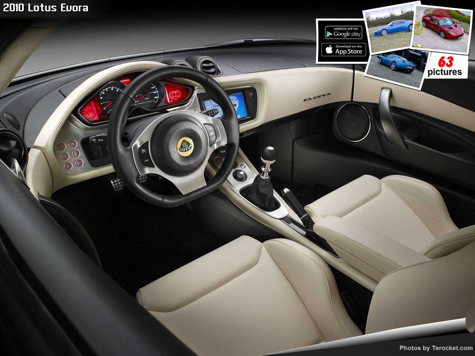 Hình ảnh siêu xe Lotus Evora 2010 & nội ngoại thất