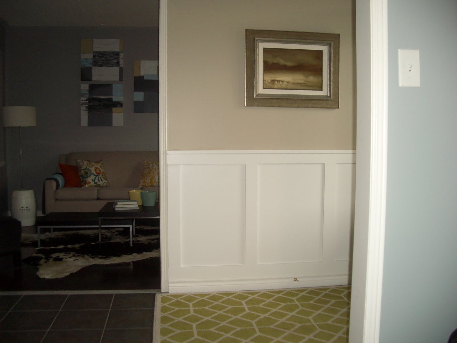 Doodles, Dreams and Delights: Wainscoting - The End Result! on