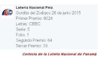 resultados-gordito-del-zodiaco-viernes-26-de-junio-2015-loteria-nacional-de-panama