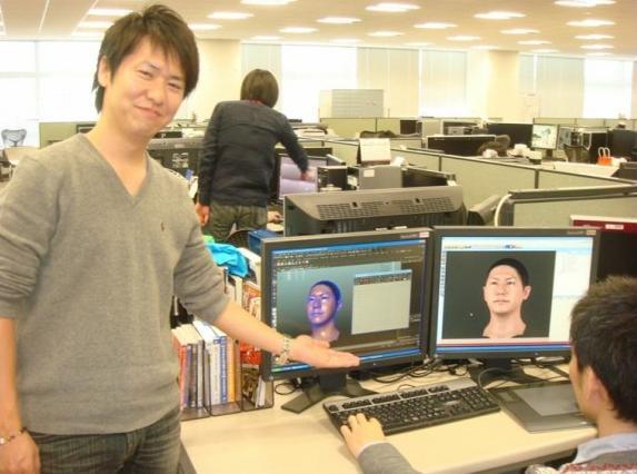 Kei Masuda na Konami de Tóquio