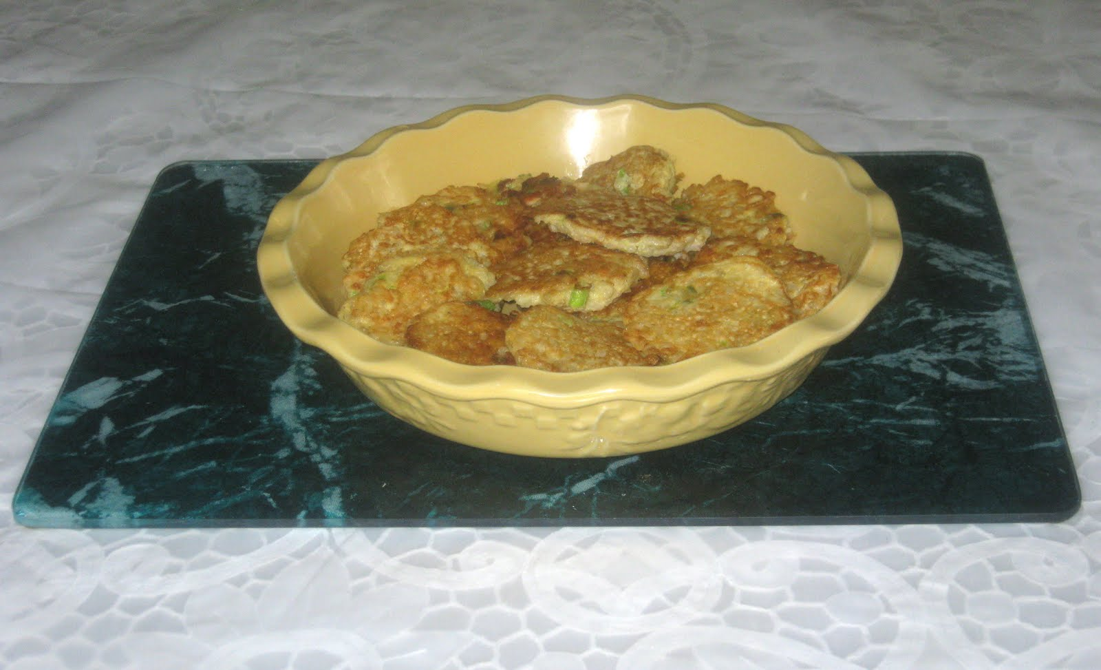 Thai Rice Pancakes (adapted from Vegetarian Times Issue: February 1 ...