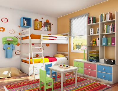 Getting Your Own Kids Bedroom Decorating Ideas