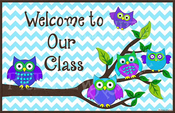Image result for Owl Welcome sign