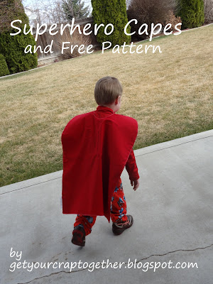 Free Superhero Cape Pattern