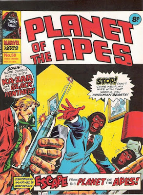 Marvel UK, Planet of the Apes #58