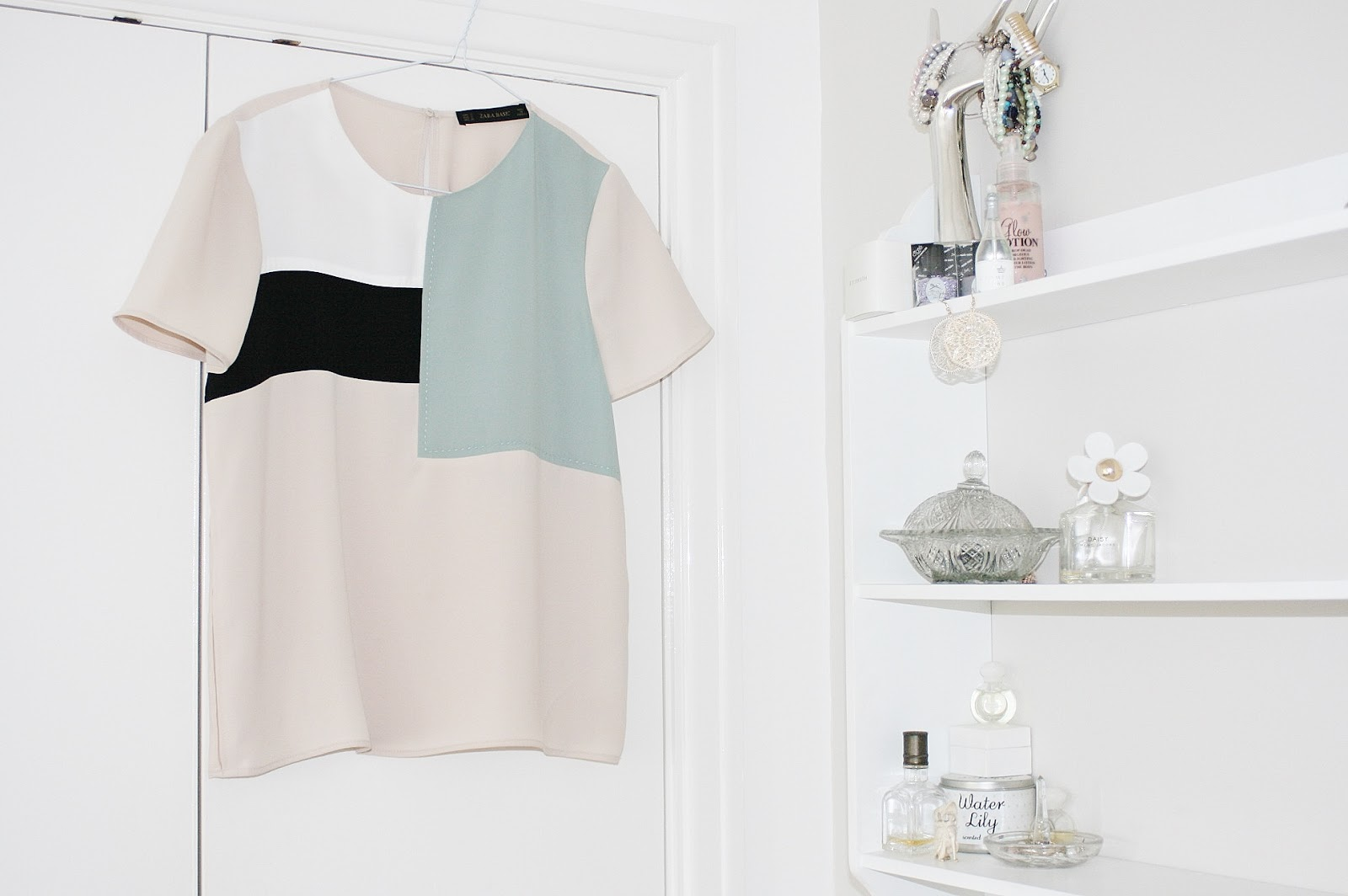 Katherine Penney Chic Zara Top Evening Pastel Pretty Fashion Outfit Style Spring Luxury