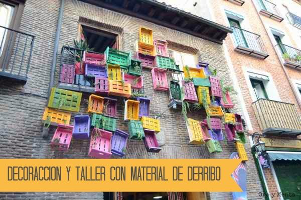 Oro y menta decoraccion y taller con material de derribo - Talleres cano madrid ...