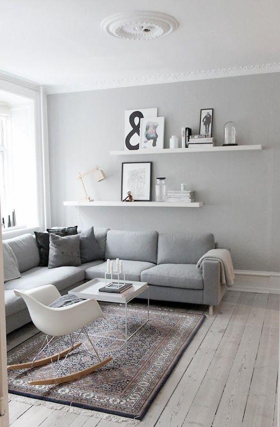 Charmant Photo Peinture Salon Gris Et Blanc Excellent Photo Peinture Salon