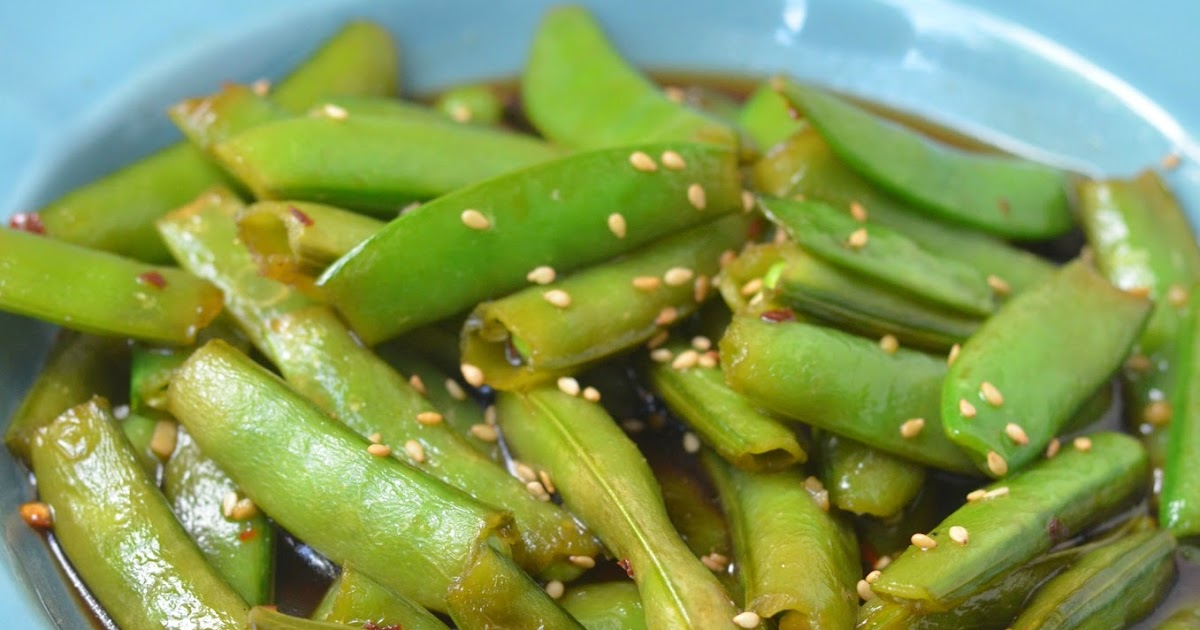The Savvy Kitchen: Soy Ginger Snow Peas