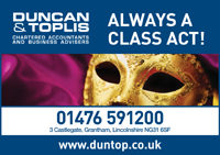 Duncan Toplis advert