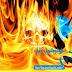 درس صنع خلفية جمجمة النار علي CS6
