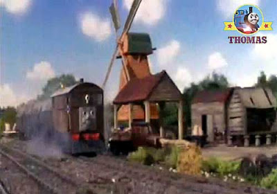 Michael Brandon Toby the tank engine Windmill 2006 TV Thomas and the Really Brave Engines video