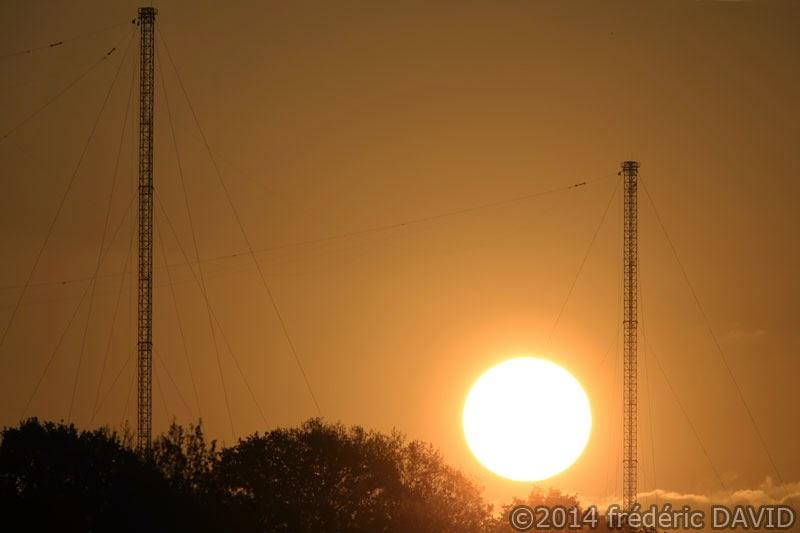 ciel soleil matin silhouettes Seine-et-Marne