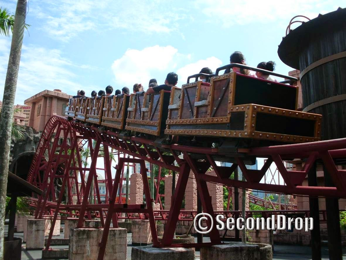 Second Drop Attractions Sunway Lagoon Malaysia Trip Report