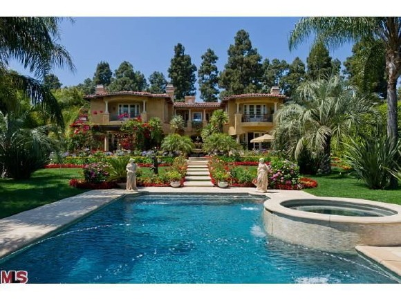 Dr Phil Hollywood Celebrity Home