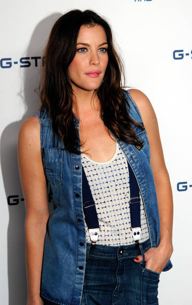 Liv Tyler   Mercedes Benz Fashion Week Spring 2011