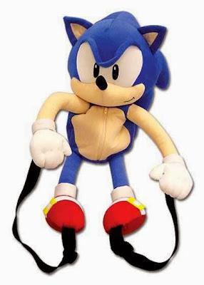 Peluche Mochila Sonic
