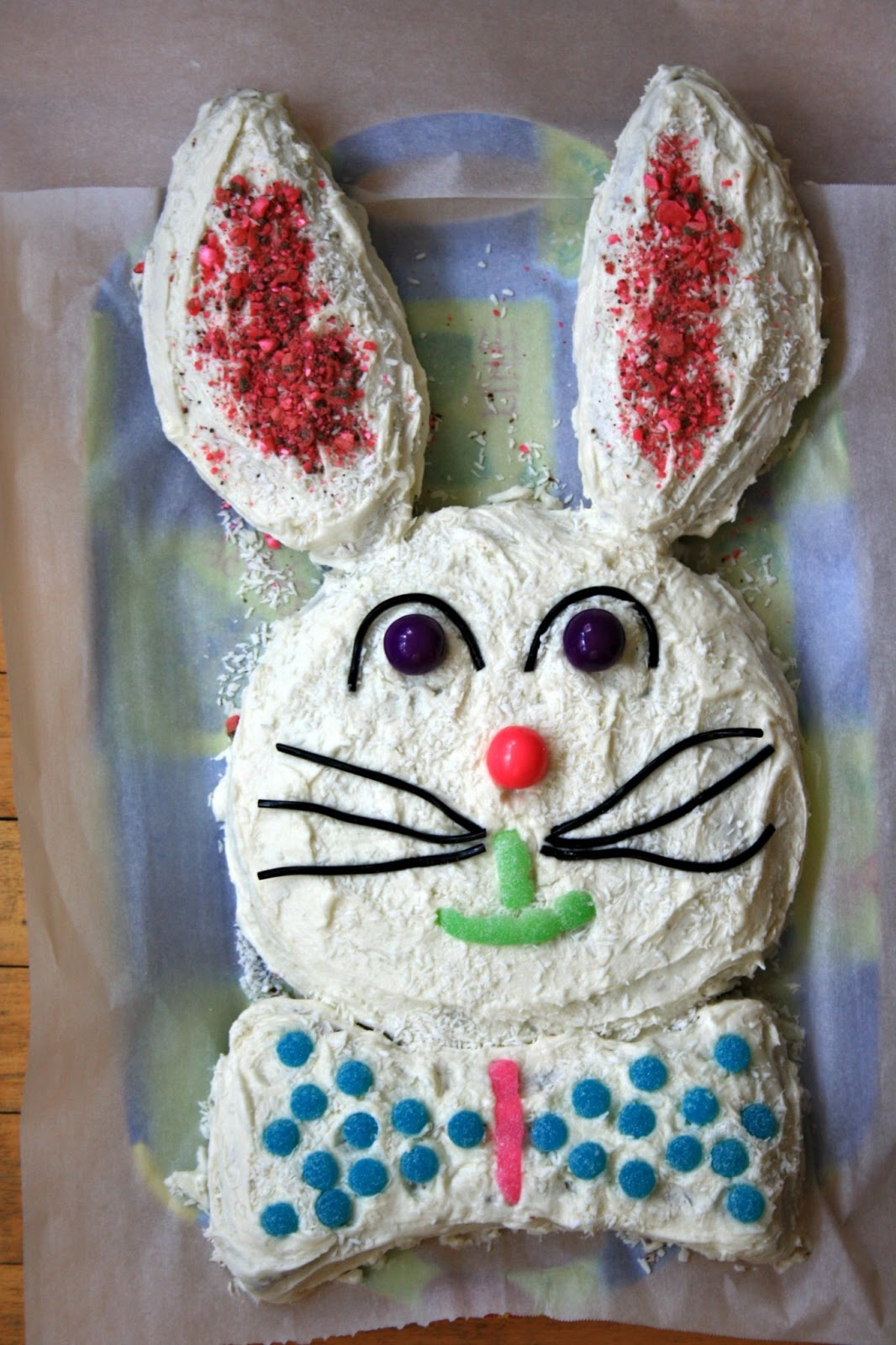 Easy easter bunny cake recipe