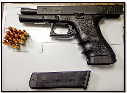 One of the 18 firearms discovered on June 4th.This one was discovered at Memphis (MEM).