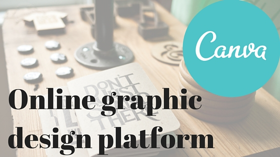 Canva is an online graphic design platform