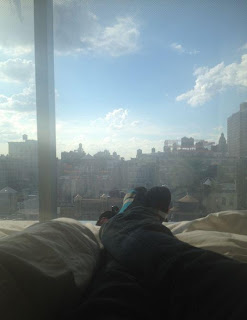 Greyson Chance feet and Socks in new York
