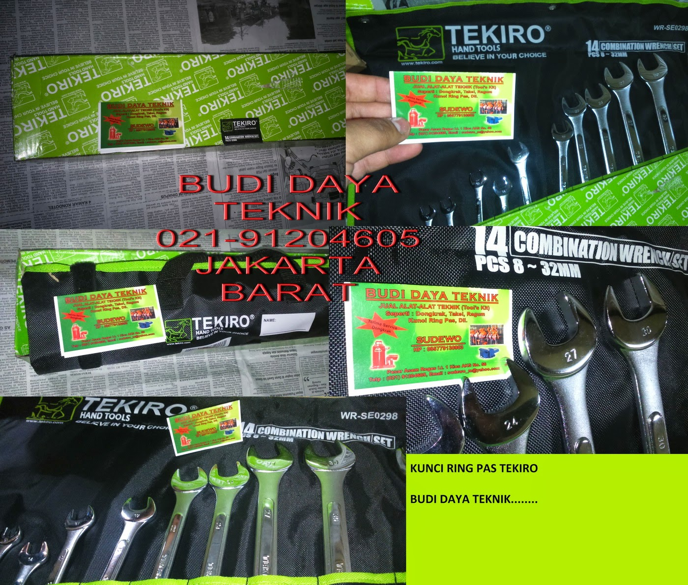 Jual Alat Teknik Terlengkap Seperti Dongkrak Tekiro Botol 20 Ton Kunci Ring Pas Set 8 24mm Rp250000 32mm Rp400000 3 1 Rp450000