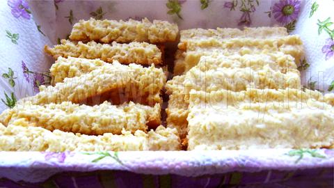 kókuszos darálós keksz