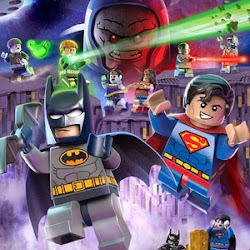 Poster LEGO DC Comics Super Heroes: Justice League vs. Bizarro League 2015