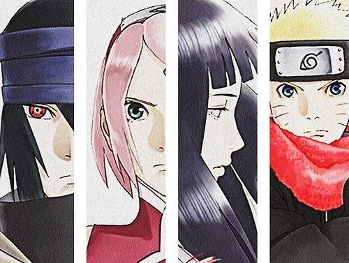 Sasuke - Sakura - Hinata - Naruto