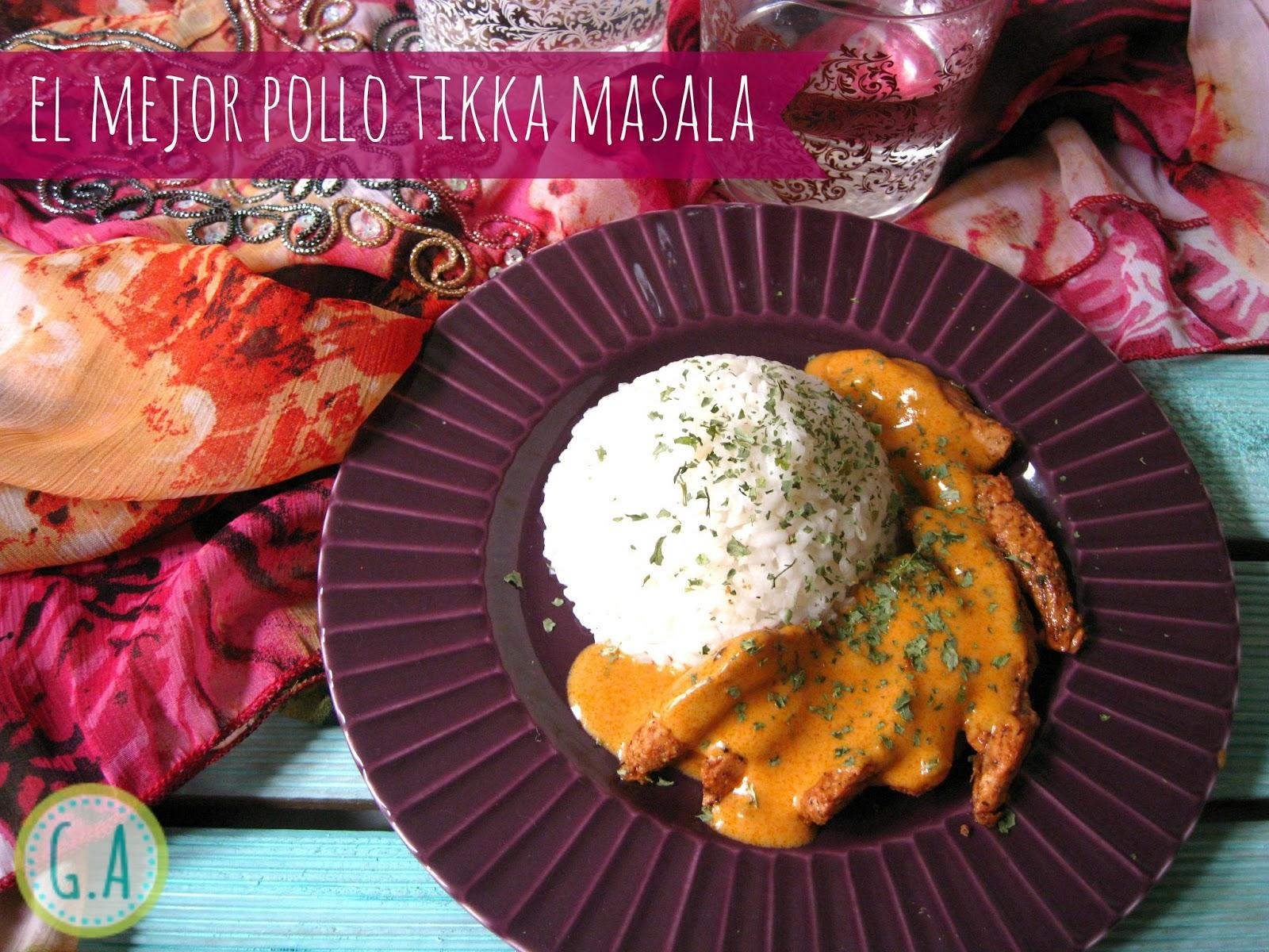 El mejor tikka masala de todos los tiempos gastroandalusi - Salsa de tomate y nata ...