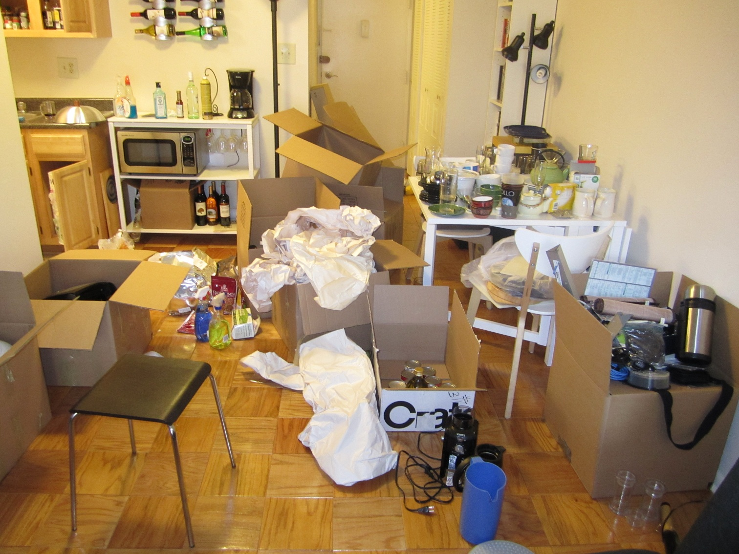 Wondering and wandering apartment update we got our Messy apartment