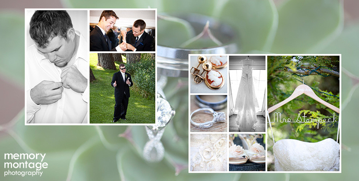 Memory Montage Photography - Blog: Recent Wedding Album Design