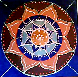 Mandala 8 petalos 1
