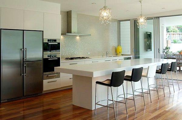 15 ideas de iluminaci n para la cocina perfecta cocina y - Iluminacion muebles ...