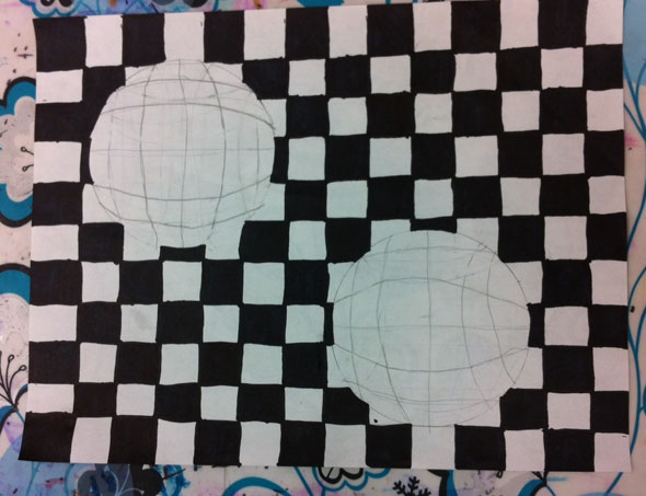 artisan des arts: Optical Illusions - grade 5