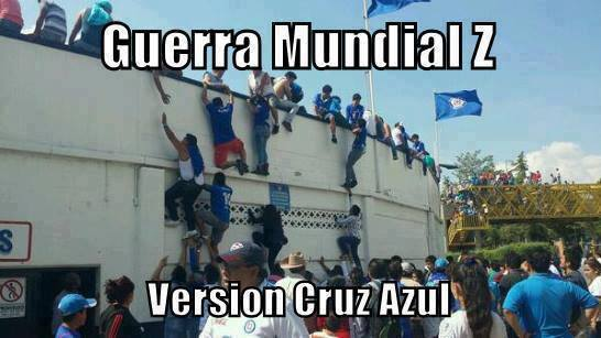 imagenes chistosas fb: Guerra Mundial z Version Cruz Azul
