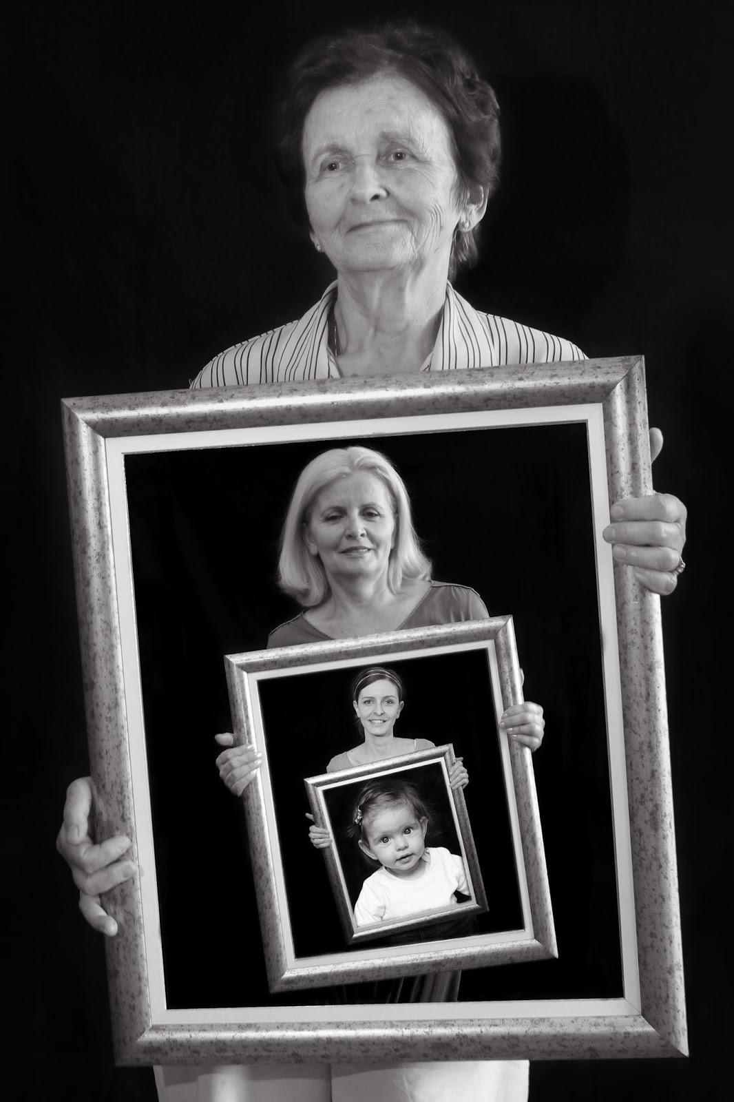 Berühmt Four Generation Picture Frame Bilder - Benutzerdefinierte ...