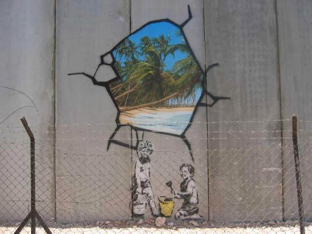Banksy Guerre et Spray