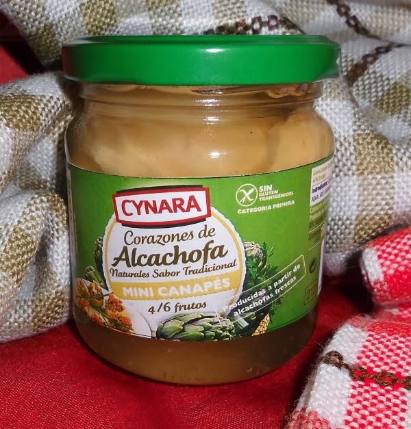 corazones de alcachofa cynara mini canapes