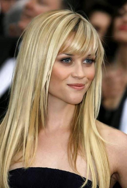 sencillos cortes de pelo largo para mujeres jvenes
