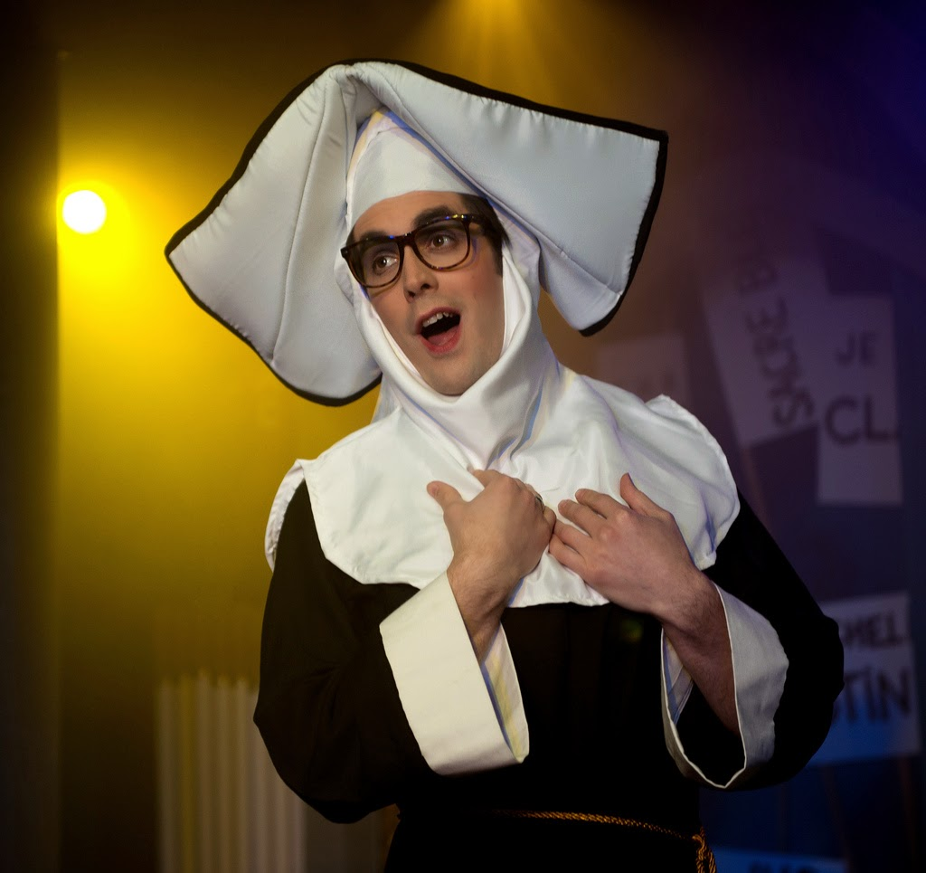 The Three Musketeers - Charles Court Opera (2012) - John Savournin as Mother Superior. Photo credit Bill Knight