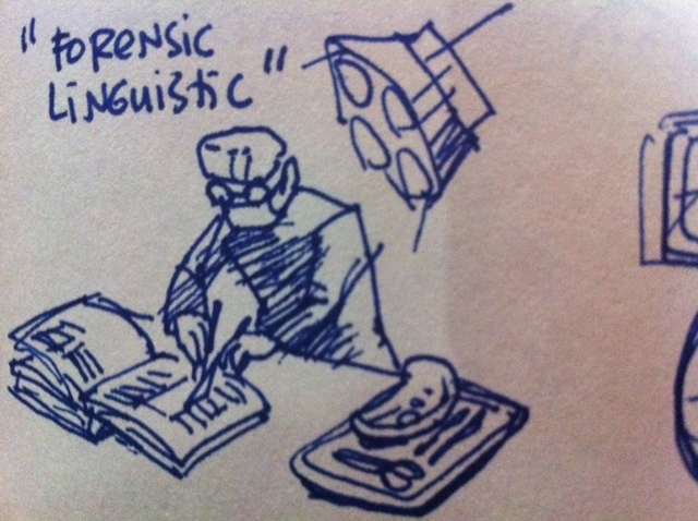 Forensic linguistics: Who will be in control?