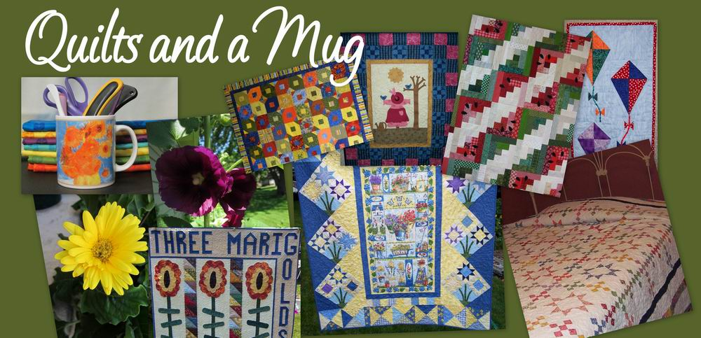 Quilts and a Mug